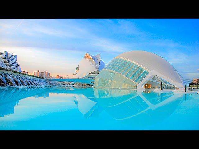 Ciudad De Las Artes Y Las Ciencias Valencia Spain Youtube