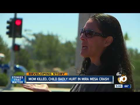 Mom killed, son hurt in Mira Mesa crash
