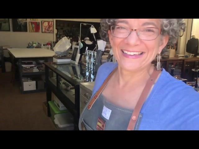 Kim Harrell Jewelry Design Studio Tour