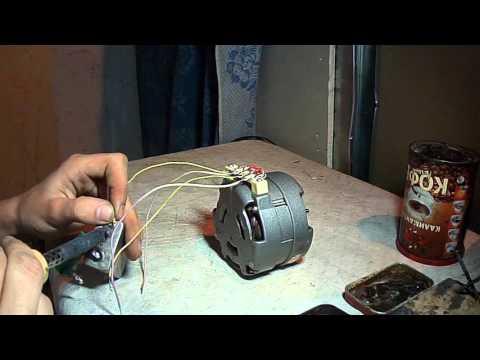подключение эл двигателя кд-6-4ухл4