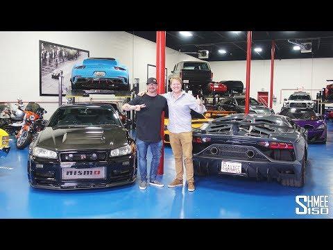Visiting the Hidden SAVAGE GARAGE Supercar Collection!