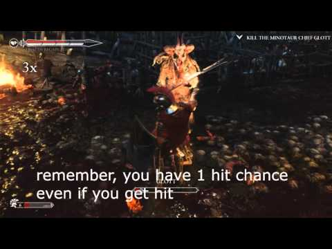 Ryse: Son of Rome - How to kill Chief Glott (Minotaur Glott) (EASIEST AND FASTEST WAY!!!)