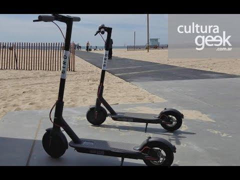 Bird: como funcionan las scooters eléctricas en Los Ángeles