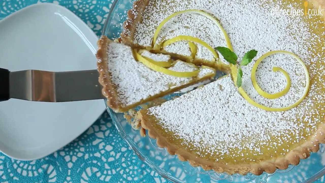 How to make lemon tart - Allrecipes.co.uk - YouTube