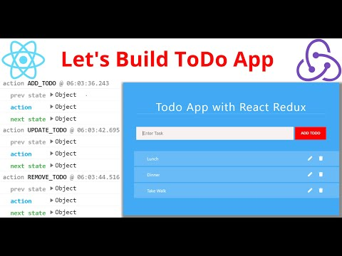 Build a Todo List App with React Redux