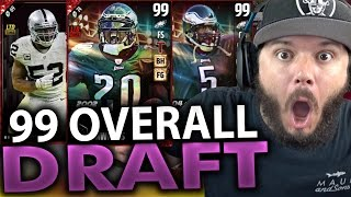 TWO 99 OVERALL PLAYERS!! - MADDEN 17 DRAFT CHAMPIONS