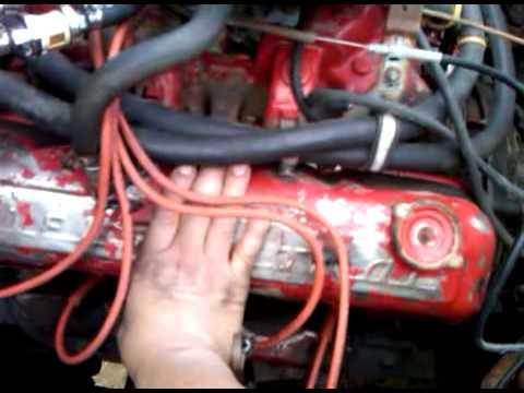 1972 International Scout II 304 V8 engine run  YouTube