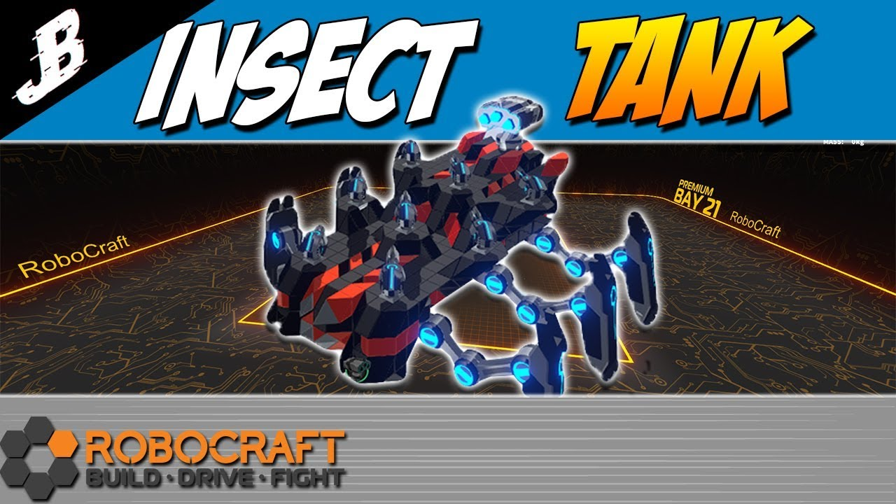 Missile launcher scorpion build - Robocraft Gameplay