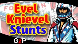 Evel Knievel Daredevil stunts motorbike game - iOS Android
