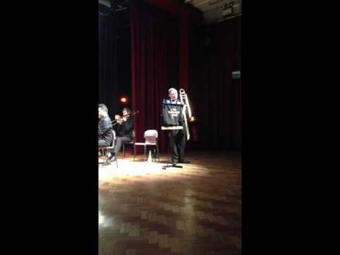 Rhapsody from the Worth  trombone solo performed by Alan Gifford  The Staffordshire Band