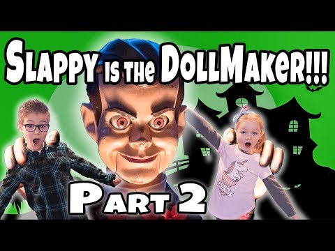 24 hours to Escape The Doll Maker Abandoned Orphanage!! Slappy is the Doll Master Part 2