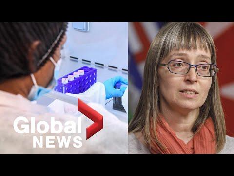 Coronavirus outbreak: Alberta reports 45 new COVID-19 cases, 1 new death | FULL