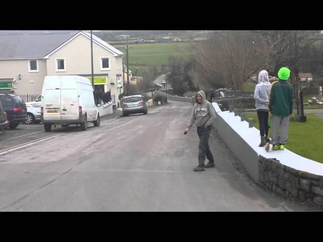 Kilflynn Soap Box Derby Trial Run