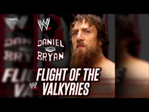 """WWE: """"Flight Of The Valkyries"""" (Daniel Bryan) Theme Song + AE (Arena Effect)"""