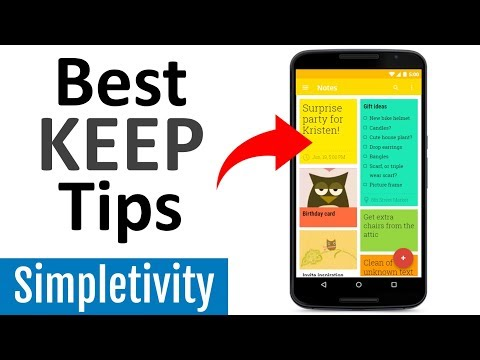 5 Google Keep Tips You'll Wish You Knew Earlier (Mobile App)