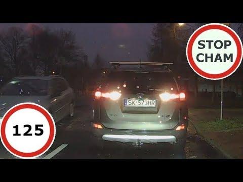 Stop Cham #125 – Niebezpieczne i chamskie sytuacje na drogach