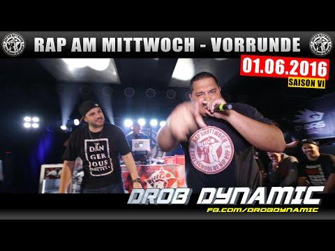 RAP AM MITTWOCH BERLIN: 01.06.16 BattleMania Vorrunde feat. DROB DYNAMIC uvm. (2/4)