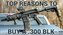 Top Reasons to Buy or Build a .300 BLK rifle