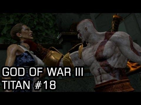 God of War III (Titan,PS3) #18 Deadalus' Schematics, Hera's Chalice, Olympus Gardens