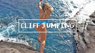 HAWAII: CLIFF JUMPING IN PARADISE!!