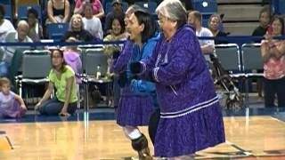 Inupiaq  Eskimos from Anaktuvuk Pass dancing in Fairbanks