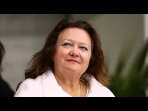 Gina Rinehart no longer Australia's richest person
