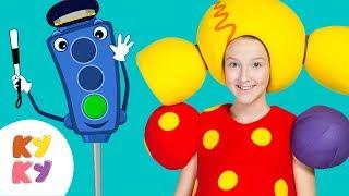 СВЕТОФОРЫ - КУКУТИКИ - Детская песня про машины и светофор для малышей