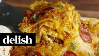 Pizza Lasagna | Delish