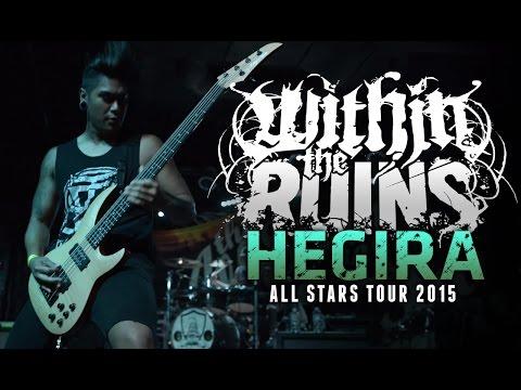 "Within The Ruins - ""Hegira"" LIVE! All Stars Tour 2015"