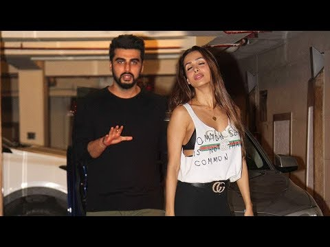 Arjun Kapoor SPOTTED At GF Malaika Arora's House