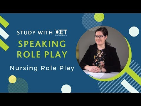 OET Speaking Role Play : Nursing