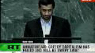 Ahmadinejad speech at UN