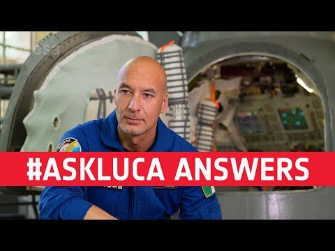 Luca Parmitano responds to #AskLuca
