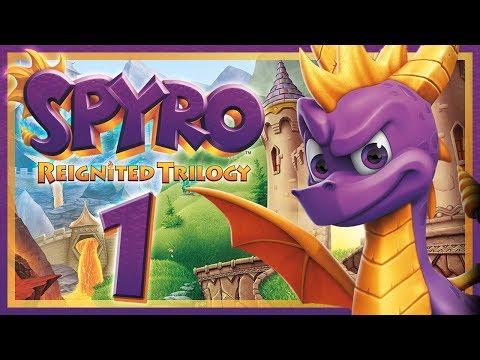 SPYRO REIGNITED TRILOGY #1: Spyro the Dragon auf der Switch