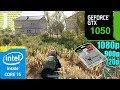 PlayerUnknown's Battlegrounds GTX 1050 2GB + SSD | 1080p - 900p - 720p