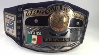 NWA世界ウェルター級チャンピオンベルト / NWA World Welter Weight Championship Belt