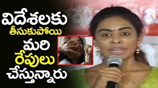 SriReddy Shocking Comment  On Foreign Artists  ...