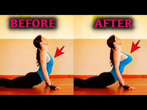 6 simple yoga poses to firm your breasts  youtube