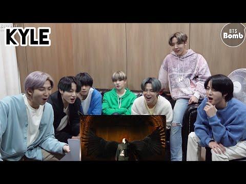 [Озвучка By Kyle] Реакция BTS на BLACK SWAN  MV