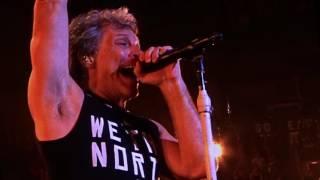 Bon Jovi - Toronto 4-11-2017  Lay Your Hands On Me
