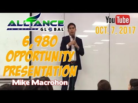6,980 AIM GLOBAL OPPORTUNITY PRESENTATION
