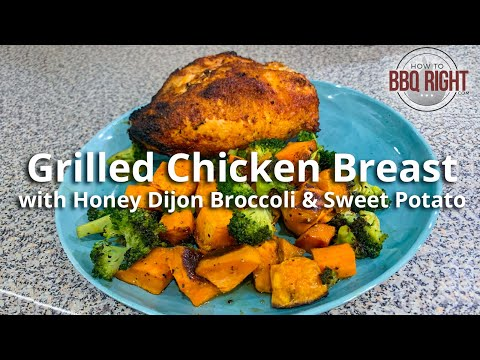 grilled-chicken-breast-with-honey-dijon-broccoli-&-sweet-potato