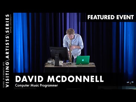 David McDonnell, Focus On: Max/MSP Strategies in Computer Generated Music
