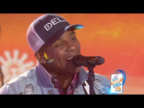 Watch Jimmie Allen perform 'Best Shot' live