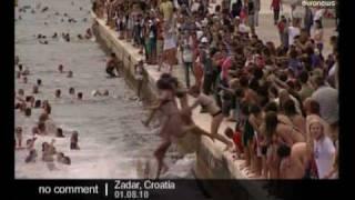 Millennium jump in Croatia - no comment