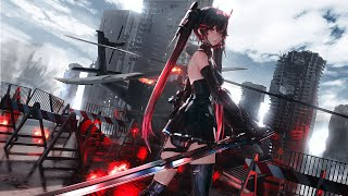 Nightcore - Angels Painted Red
