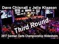 2017 German Darts Championship Hildesheim Dave Chisnall v Jelle Klaasen | Third Round