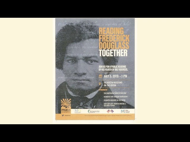 Reading Frederick Douglas Together