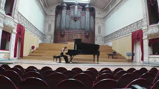 Eugènia Guri plays Bach French Suite 2 BWV 813 in g minor