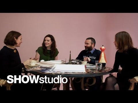 SHOWstudio: Chanel - Haute Couture Spring/Summer 2013 Panel Discussion